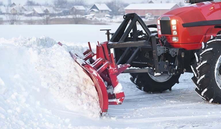 Механизированная чистка снега